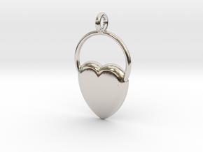 Heart Of San Valentino in Platinum