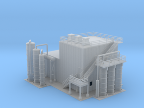 Ethanol Processing Center Facility Building 1 Z Sc in Smooth Fine Detail Plastic