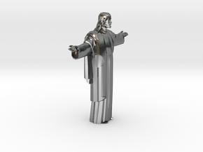 Cristo-redentor HW Medium in Polished Silver