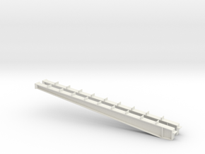 1/64 100' I-beam Cross Span in White Natural Versatile Plastic