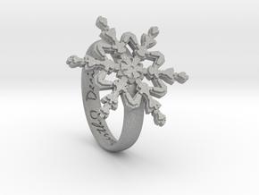 Snowflake Ring 2 d=16.5mm h35d165 in Aluminum