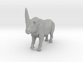 Elasmotherium Color in Aluminum