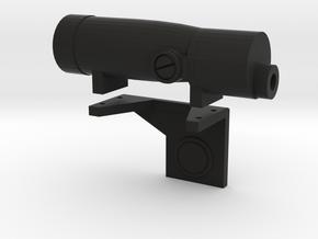 Blaster Scope 19 w/ Mount 2 in Black Natural Versatile Plastic