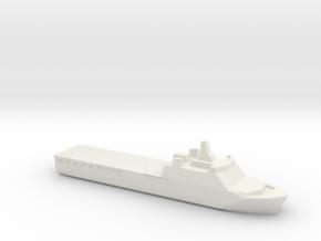 KRI Banjarmasin, 1/3000 in White Natural Versatile Plastic