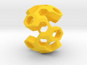 HONEYGENE Pendant in Yellow Processed Versatile Plastic