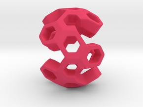 HONEYBOMB GSENSE, Pendant in Pink Processed Versatile Plastic