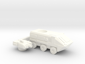 Upsized Fox APC in White Strong & Flexible Polished