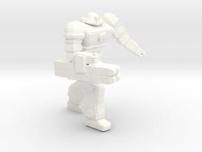 Viking Heavy Pose 3 in White Processed Versatile Plastic