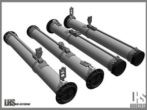 1/6 scale Russian RPG-26 X4 in White Strong & Flexible