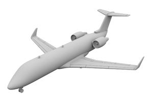 1:200_CRJ 100 [x1][S] in Smooth Fine Detail Plastic