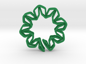 YOUNIC Blossom 350R, Pendant in Green Processed Versatile Plastic