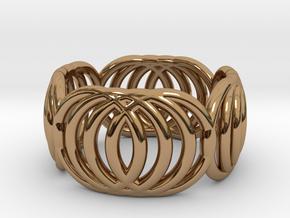 V2 - Ring in Polished Brass