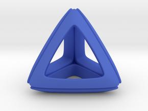 Trianon Charms. Customizable. in Blue Processed Versatile Plastic