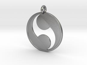 Futatsudomoe in Natural Silver
