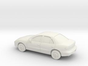 1/87 1995-99 Pontiac Sunfire in White Natural Versatile Plastic