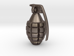 Keychain Grenade  solid &    25mm hight in Stainless Steel