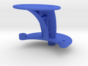 XuGong V2 - Mount for Controller & Cased Cam in Blue Processed Versatile Plastic