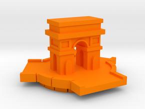 Arc d'Triomphe in Orange Processed Versatile Plastic