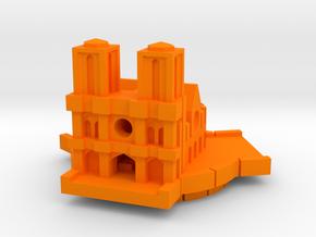 Notre Dame in Orange Processed Versatile Plastic