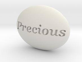 S46 Ellipse Enh. PRECIOUS @1 x 46 x 34.5. in White Natural Versatile Plastic