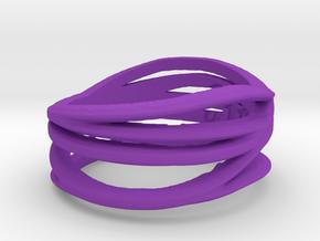 Simple Classy Ring Size 8 in Purple Processed Versatile Plastic