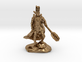The Dark Lord with His Deadly Mace in Natural Brass