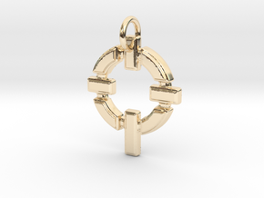 Gael in 14k Gold Plated