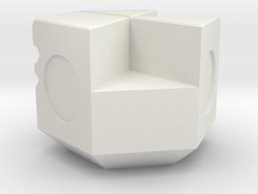 NXS - 4-2 Piece in White Natural Versatile Plastic
