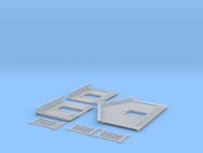 NGPLM44 Modular PLM train station in Smooth Fine Detail Plastic