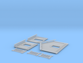 NGPLM45 Modular PLM train station in Smooth Fine Detail Plastic