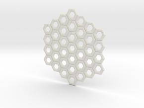 NXS - Complete Game Board in White Natural Versatile Plastic