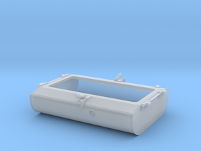 FT0012 GP38-2 Center Fill Fuel Tank, 1/87.1 in Frosted Ultra Detail
