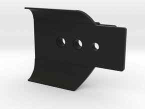 Non-rotating Arca-Swiss plate: Pentax D BG5 grip in Black Natural Versatile Plastic