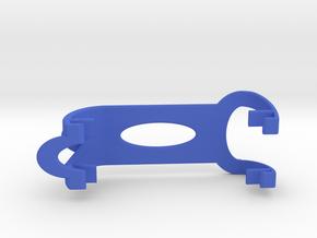 XuGong V2 - Horizontal Battery Clip - Multistar 52 in Blue Processed Versatile Plastic