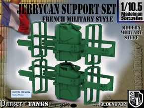 1-10.5 Support Jerrycan in Green Processed Versatile Plastic