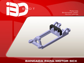 Bancada para motor SCX in White Strong & Flexible