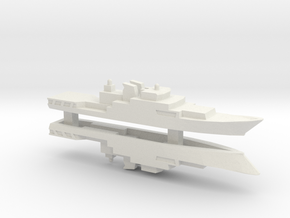 Haijing/CCG-1305 Patrol Ship x 2, 1/2400 in White Natural Versatile Plastic