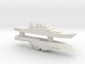 Haijing/CCG-1305 Patrol Ship x 2, 1/3000 in White Natural Versatile Plastic