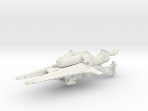 Sparrowhorn (1:18 Scale) in White Natural Versatile Plastic