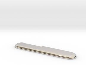 Victorinox replacement scale (for aluminum print) in Platinum