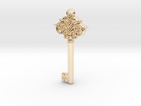 CosmicKey pendant  in 14K Yellow Gold