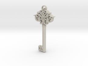 CosmicKey pendant  in Natural Sandstone
