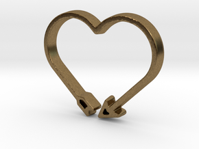 Love Arrow - Amour Collection in Natural Bronze