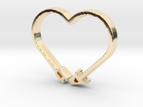 Love Arrow - Amour Collection in 14K Yellow Gold
