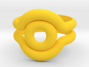 Shadow Ring in Yellow Strong & Flexible Polished