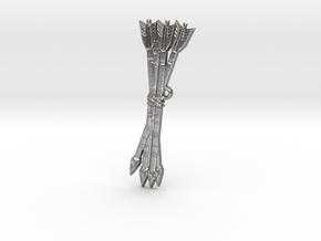 Bundle of Arrows in Natural Silver