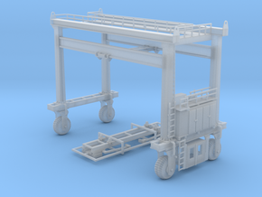 Mi Jack Container Crane N Scale in Smooth Fine Detail Plastic