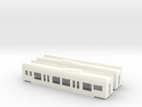 Flirt Scale TT Set Mittelwagen in White Strong & Flexible Polished