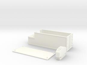 Kühlcontainer  Scale TT 1:120 1/120 1-120 in White Processed Versatile Plastic