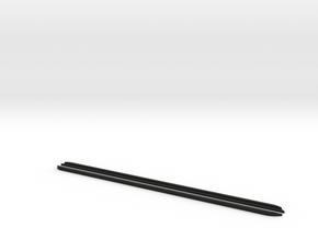 Lower edge closed front side windows l/r D90 D110 in Black Natural Versatile Plastic